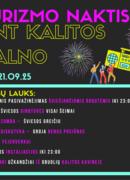 Tourism night - on Kalita mountain