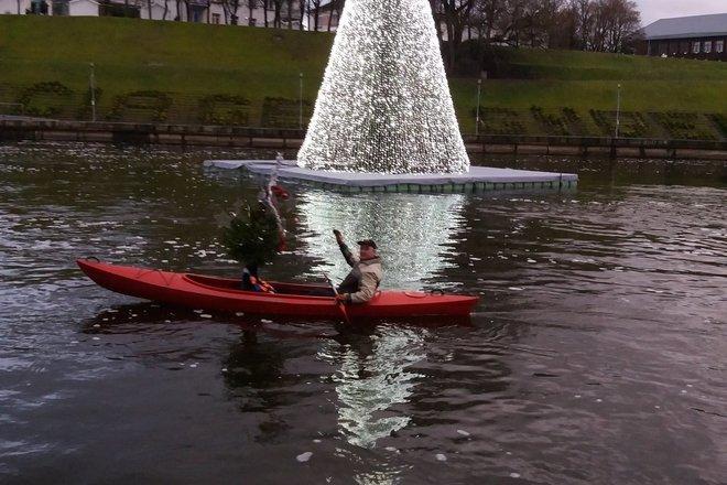Kayak rent in Anykščiai town