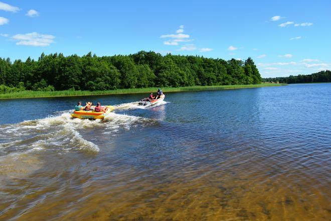 Water Recreation Activities of Anykščiai