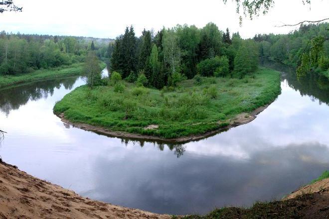 The Water Track of Šventoji River