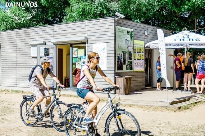 Bicycle and electric scooter rental in Dainuva adventure valley