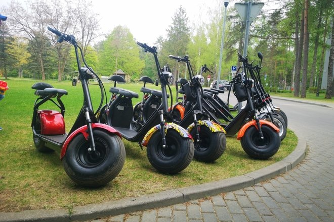 Electric Scooter and Segway Rent