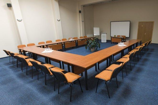 "Conference halls at the hotel ""Nykščio namai"""