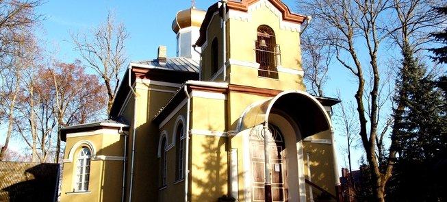 Anykščiai St Alexander Nevsky Church