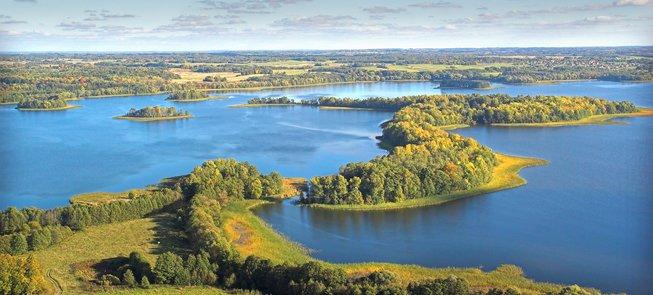 Смотровая вышка возле озера Рубикяй